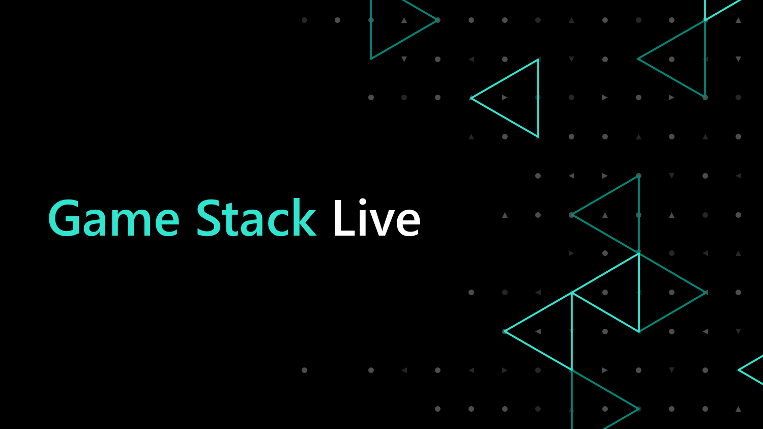 Check out Game Stack Live