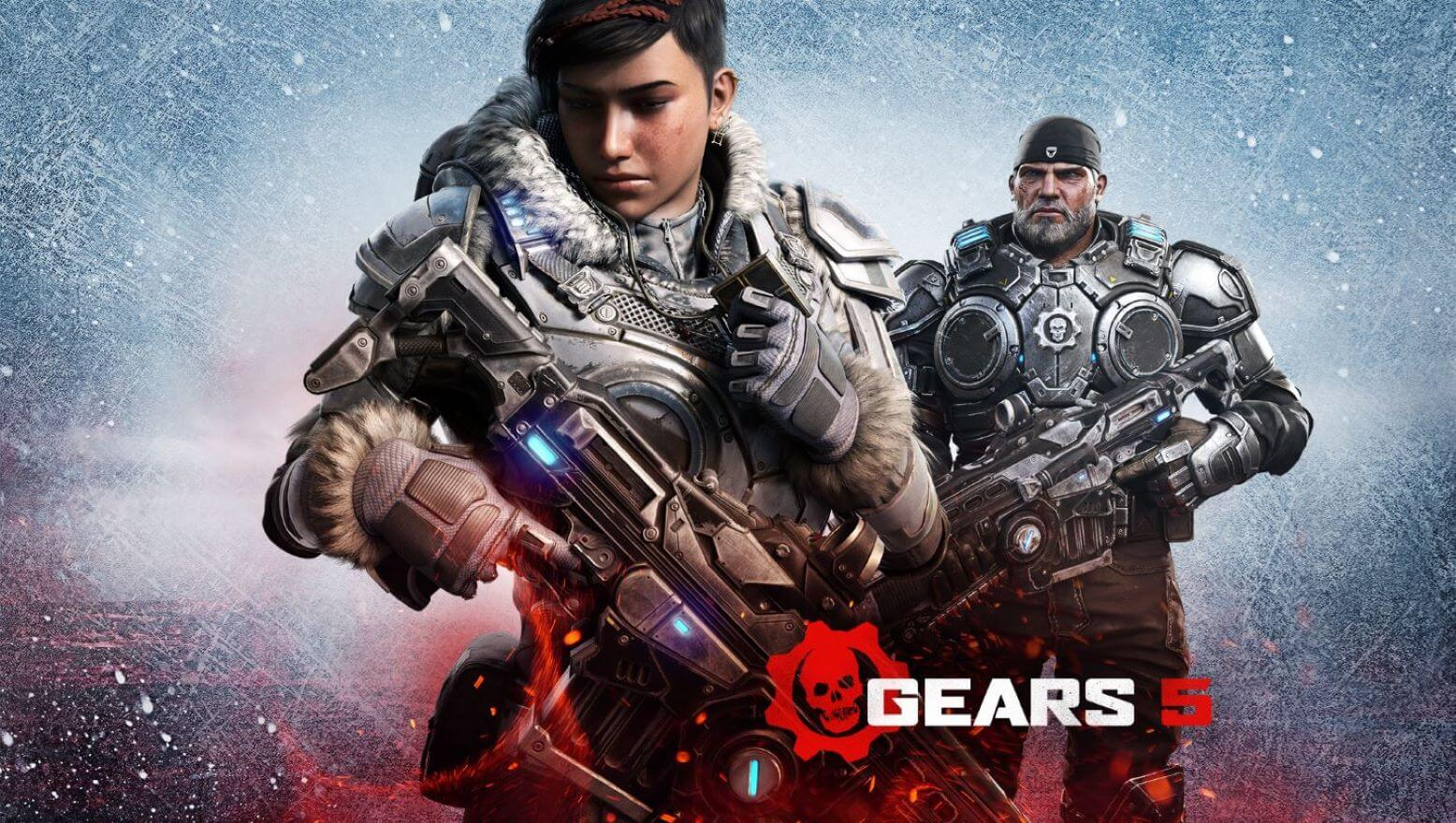 Gears of War 5 keyart