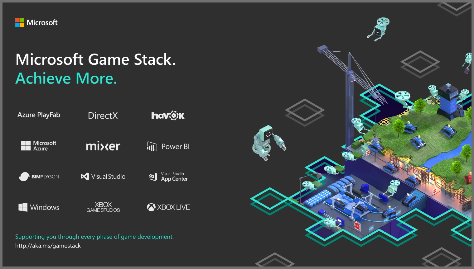 Game Stack - Achieve More With Microsoft Game Stack |  Microsoft Developer