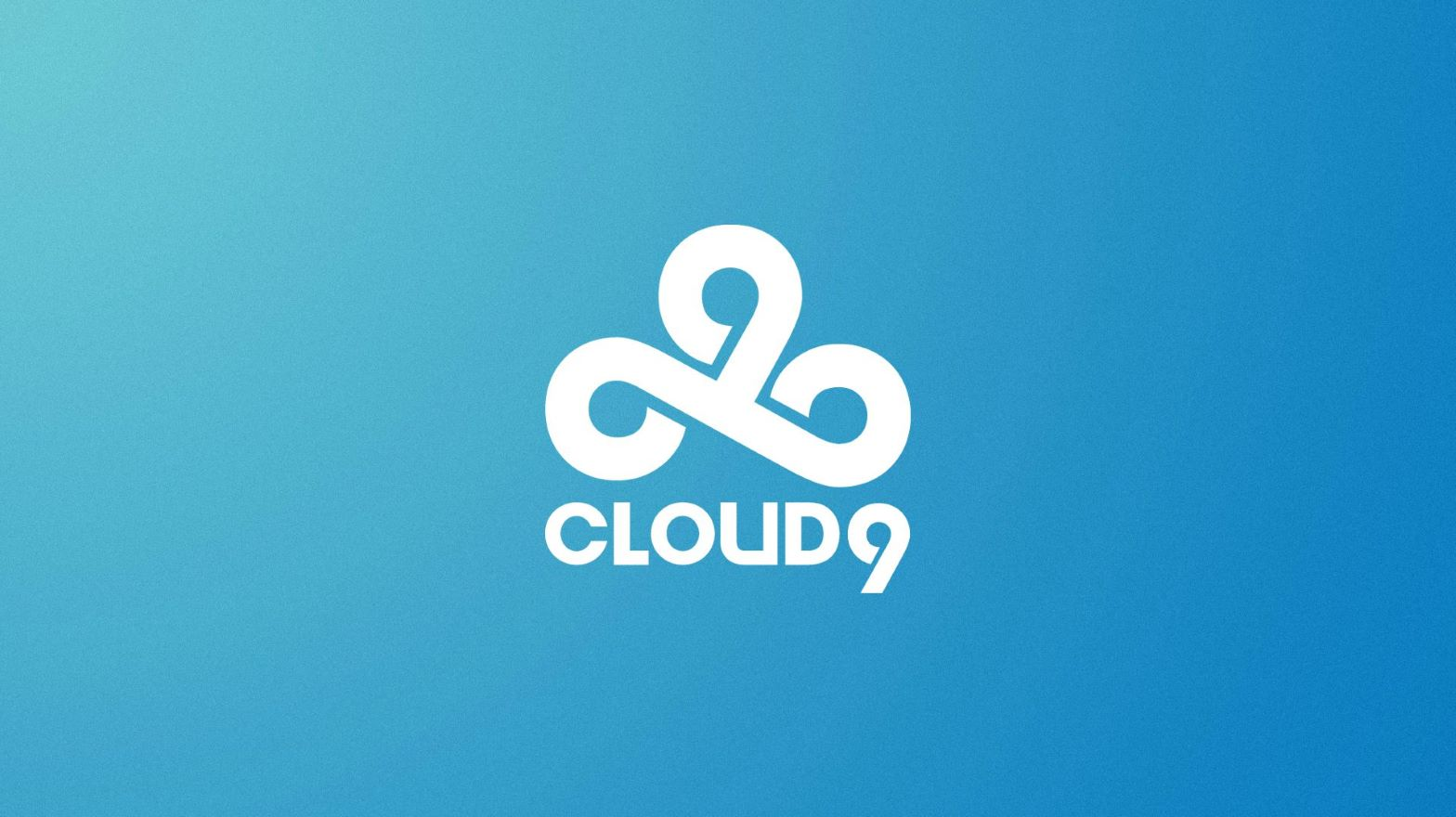 cloud9 logo on a blue background