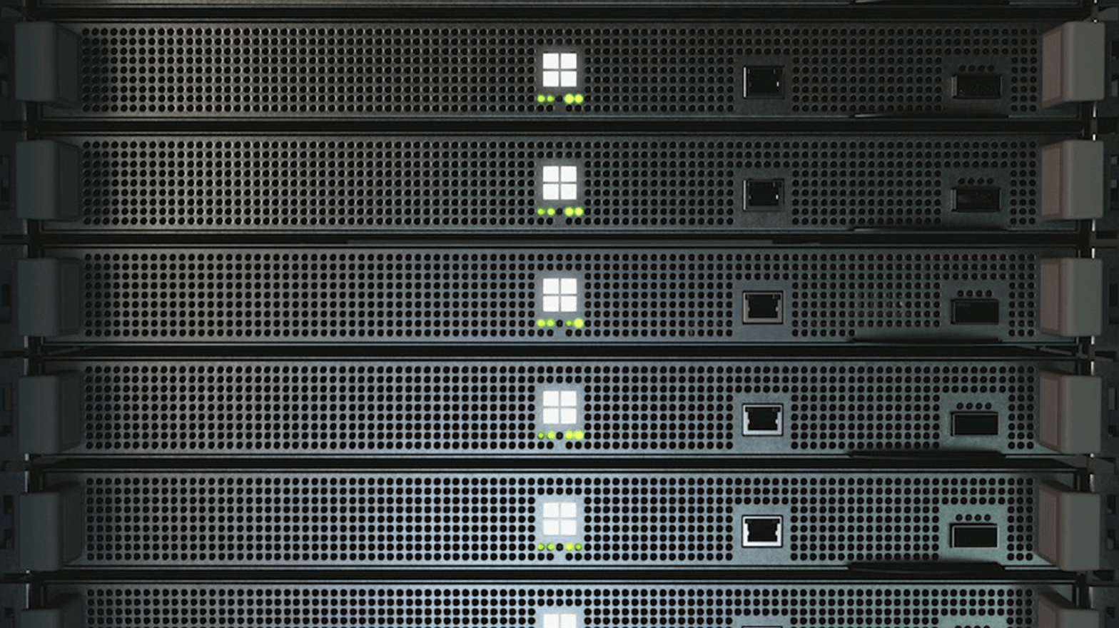 Project xCloud server blades in a stack