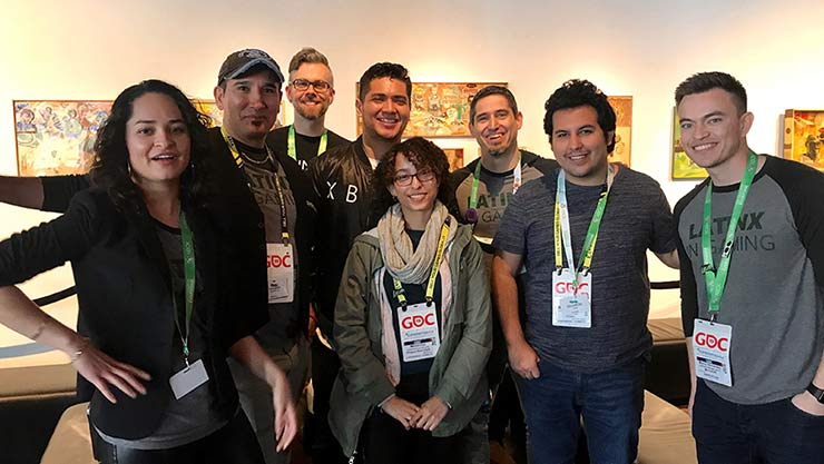 Attendees at GDC Latinx in Gaming 2019