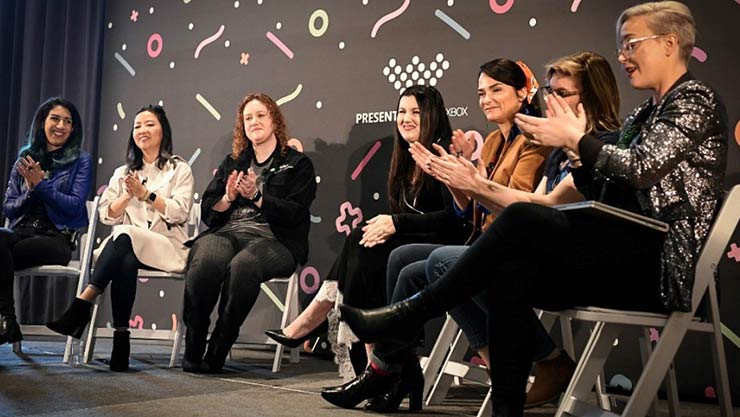 Women panelists at GDC 2019