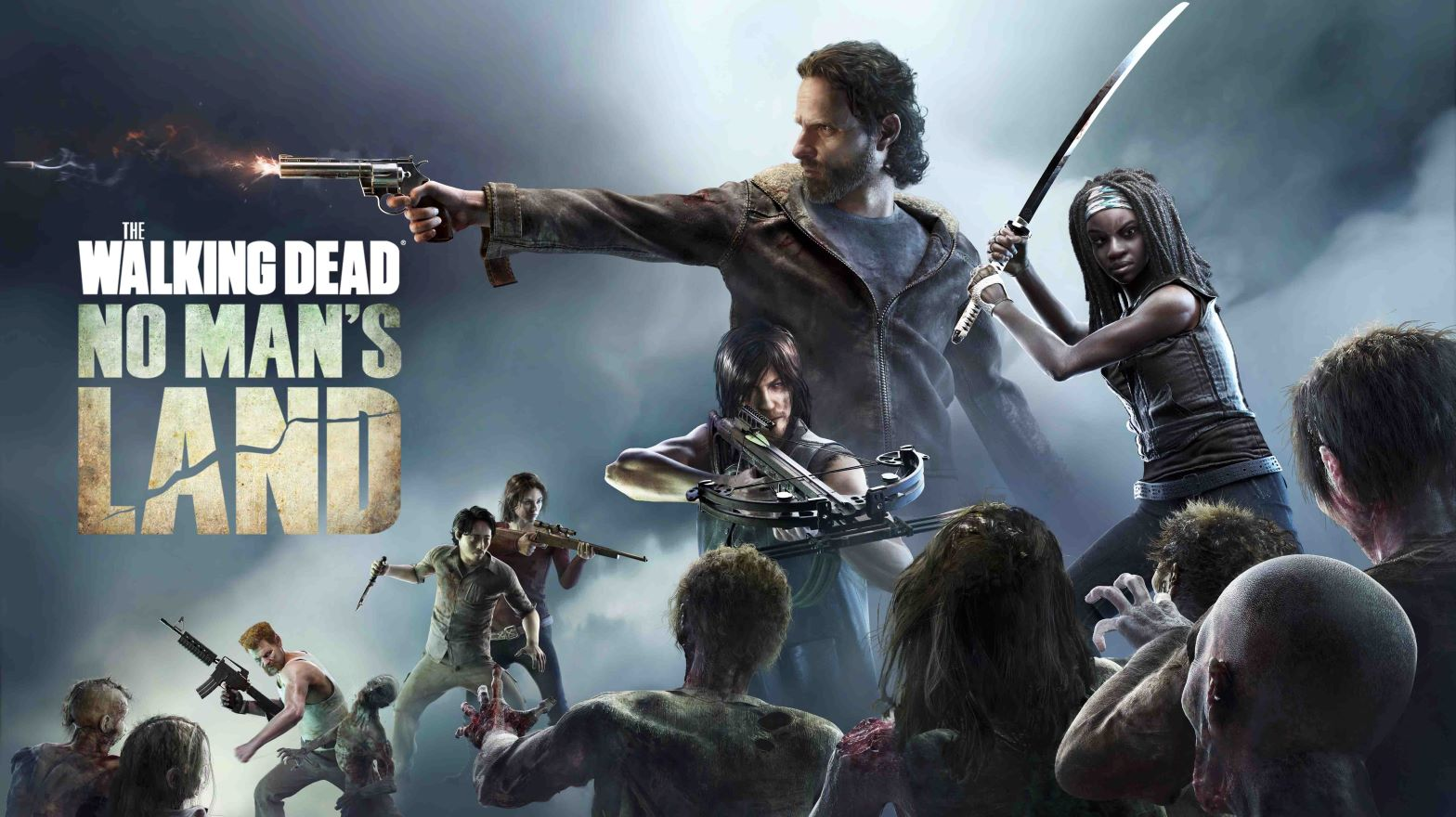 The Walking Dead No Man's Land poster art